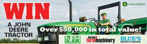 Bauer Media – New Farm Machinery – Win a John Deere Tractor worth $55,000 or 2 Lawn Mowers