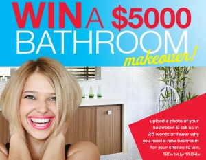 Beaumont Tiles – Win a $5K bathroom makeover