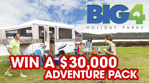 Better Homes And Gardens Win A Jayco Swan Camper Trailer