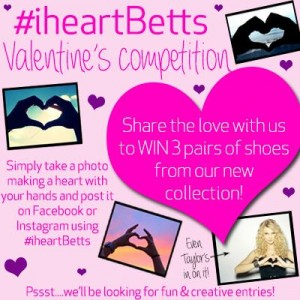 Betts Shoes – WIN 3 pairs of shoes from our new collection