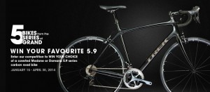 Bike Exchange – Trek Bikes – Win your favourite 5.9 series carbon road bike