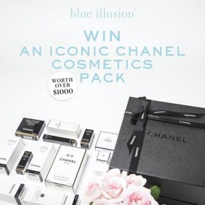 Blue Illusion – Win An Iconic Chanel Cosmetics Pack Worth Over $1,000 Giveaway