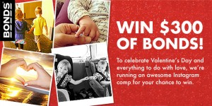 Bonds – WIN $300 WORTH OF BONDS – Valentine's Day Competition