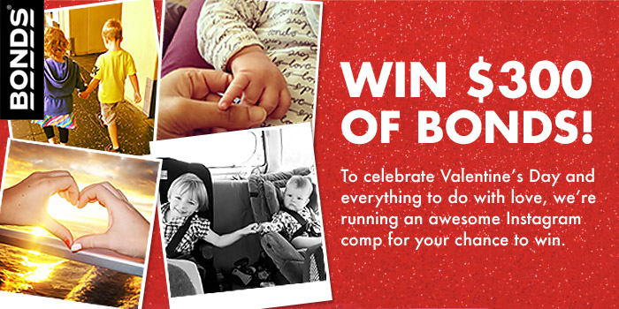Bonds – WIN $300 WORTH OF BONDS – Valentine's Day Competition