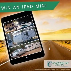 Canterbury Caravans – Win an iPad mini giveaway