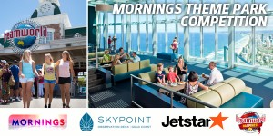 Channel Nine Mornings – Win family holiday to Gold Coast incl theme park entry