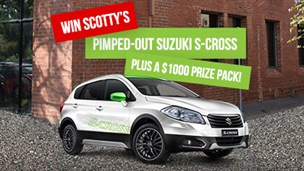 Channel Nine The Block – Win Scotty's pimped out Suzuki S-Cross and choice of 1 of 4 packages