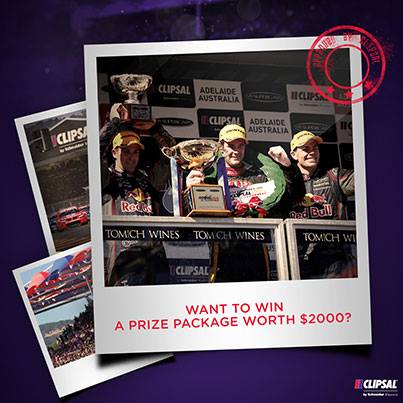 Clipsal 500 – Win prizes including tickets, flights