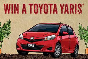 Harris Farm Markets – Win a Toyota Yaris plus weekly store winners spend $30