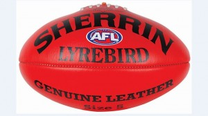 Herald Sun – win 1 of 2000 Sherrington Lyrebird footballs
