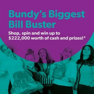 Hinkler Central Bundaberg – Win A Car or $10,000 (spin wheel to win)