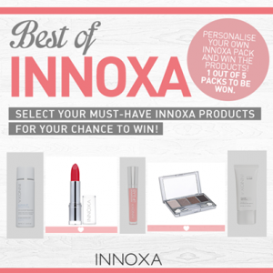 Innoxa – Win 1 of 5 Innoxa prize packs valued at $100