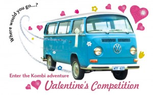 Kombi Love – Win a bottle of Champagne in our Valentine's Competition