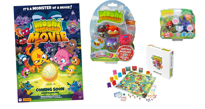 Kzone – Win a Moshi Monsters The Movie Prize Pack (must be 1