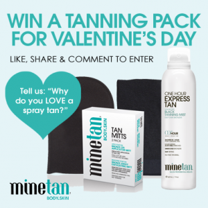 Mine Tan body skin – Win tanning products ( Like, share and comment to win)
