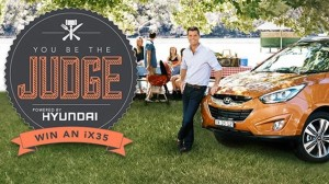 My Kitchen Rules (submit photo) win a Hyundai