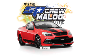 SP Tools – Win an SP Crew 2013 HSV Maloo R8 Ute (Used)