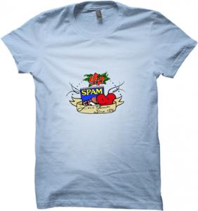 Spam – Win A Trip to Hawaii 2014 –  Design T-shirt To Win