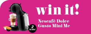 Taste.com.au – Win 1 of 2 Nescafe Dolce Gusto Mini Mee coffee machines