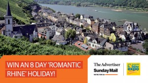 The Advertiser – Sunday Mail – Win A Cruise from Zurich to Amsterdam