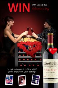 Vintec – Valentine's Day Photo Competition – WIN a bottle of Château Calon Ségur, Bordeaux Grand Cru Classé (value AU$210)