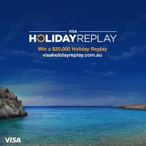 VISA Holiday Replay – Win a $20,000 Prepaid Visa Card