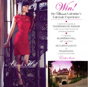 Alannah Hill – Win a $1000 Alannah Hill wardrobe and 2 nights at Thorngrove manor, return flights & transfers