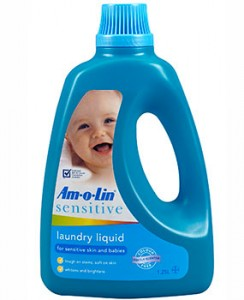 Woolworths Baby and Toddler Club – Win 1 of 4 year's worth of Amolin Sensitive Laundry Liquid