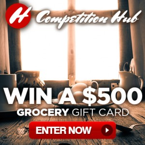 Win A $500 Grocery Gift Card