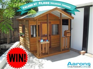 A Glimpse of Scents – Win Cubby House giveaway valued at $3,000