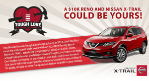 AFL Footy Show – Win A Nissan X-Trail and $10,000 Reno