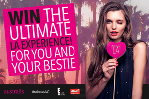 Australis – Win a trip to LA 2014 and $4,000 cash