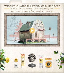 Burt's Bees – Win 1 of 10,000 Burt's Bees Classic sample size product