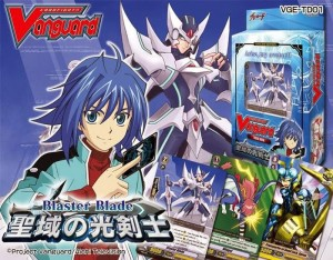 Geek of Oz Win Cardfight Vanguard Part 1 on dvd and Blaster Blade Trial Deck