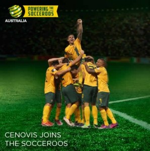 CENOVIS – Line Up With Your Hereos – Win A Trip To Socceroos Farewell Match valued at up to $3046.35