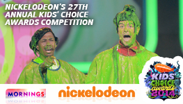 Channel Nine Mornings – Win trip to Los Angeles for Nickelodeon's 27th Annual Kids' Choice Awards