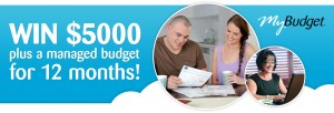 Channel Ten – Win $5,000 cash and 12 month managed budget with MyBudget