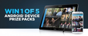 Channel Ten – Win 1 of 5 Android device prize packs (Android App download)