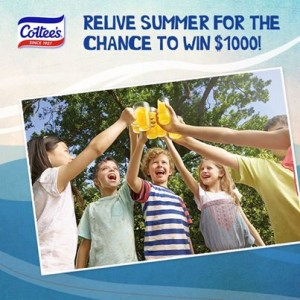 Cottee's Cordial – Win one of four $1,000 giveaway