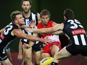 Daily Telegraph – Win 8 seat corporate box to Swans v Collingwood double gold tickets