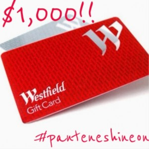 Domestic Divinity – Win $1,150 Westfield gift card giveaway + Pantene Ice Shine Competition