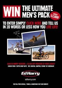 Ed Harry – Win A $2,000 Voucher
