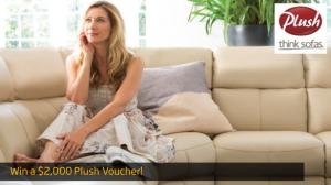 Gold 104.3 – Win a $2,000.00 Plush Sofas Voucher