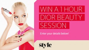 Herald Sun – Daily Telegraph – Win Dior beauty session at Myer and David Jones