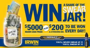 Irwin Tools – Win $5,000 plus $200 every day