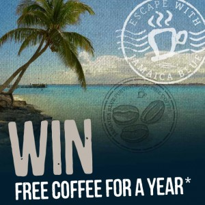 Jamaica Blue – Win free coffee for a year