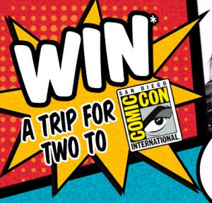 JB Hi-Fi – Win a trip to Comic-Con 2014 in San Diego