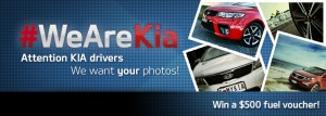 Kia – Win $500 fuel monthly (Post photo of your Kia car to win)