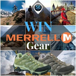 Merrell – Win a Pair of Merrell Mens or Womens MOAB Trekking Shoes