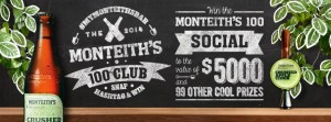 Monteith's Crushed Cider – Win $5,000 party Instagram Competition